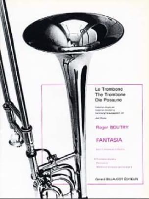 Fantasia - Roger Boutry - Partition - Trombone - laflutedepan.com
