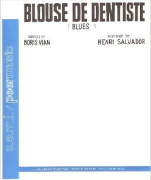 Blouse de Dentiste - Henri Salvador - Partition - laflutedepan.com