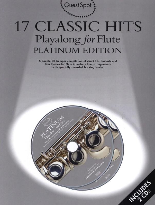 Guest Spot - 17 Classic Hits Playalong For Flute - laflutedepan.com