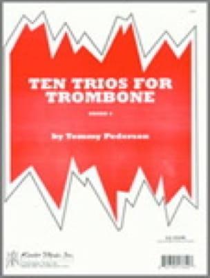 10 Trios - Tommy Pederson - Partition - Trombone - laflutedepan.com