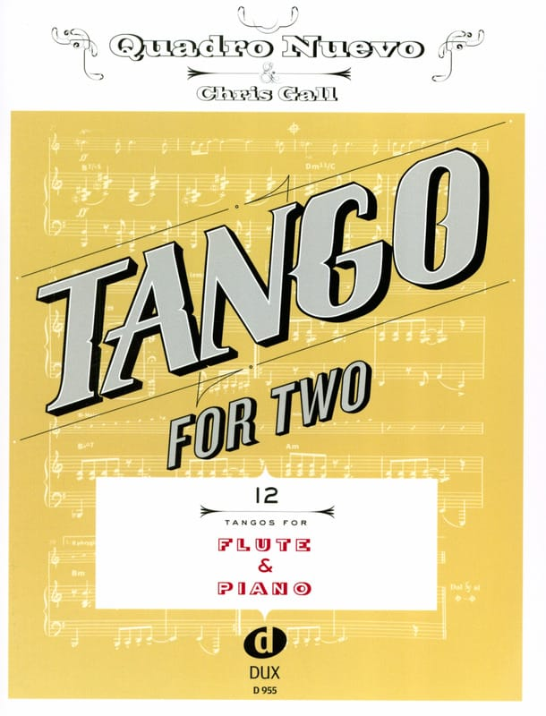 Tango For Two - Flûte & Piano - Partition - laflutedepan.com