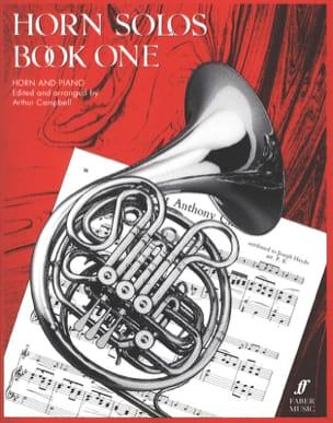 Horn Solos Book One Partition Cor - laflutedepan
