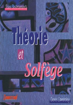 Théorie et solfège Denis Lamboley Partition Harmonie - laflutedepan