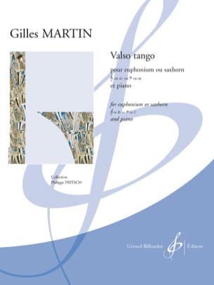 Valso tango Gilles Martin Partition Tuba - laflutedepan