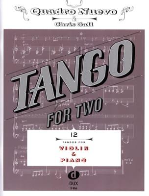 Tango For Two - Violon & Piano Partition Violon - laflutedepan