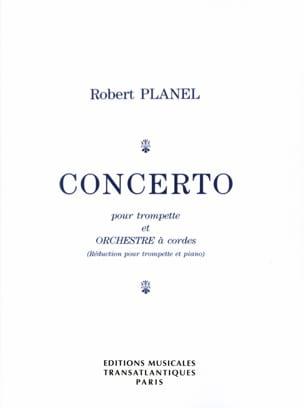 Concerto Robert Planel Partition Trompette - laflutedepan