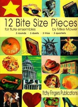 12 Bite Size Pieces Mike Mower Partition laflutedepan