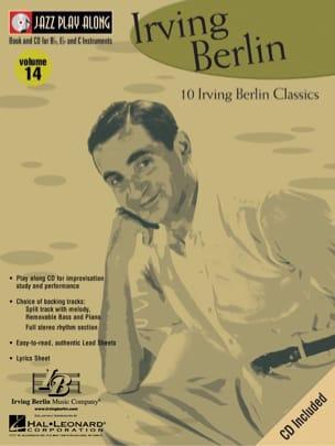Jazz play-along volume 14 - Irving Berling Irving Berlin laflutedepan