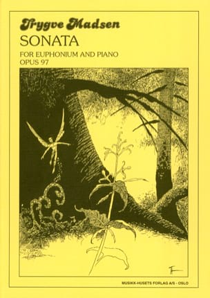 Sonata for euphonium Opus 97 Trygve Madsen Partition laflutedepan
