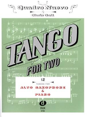 Tango For Two - Sax Alto & Piano Partition Saxophone - laflutedepan