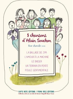 5 Chansons d'Alain Souchon pour Chorale Alain Souchon laflutedepan