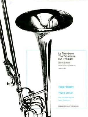 Pièce En Sol - Roger Boutry - Partition - Trombone - laflutedepan.com
