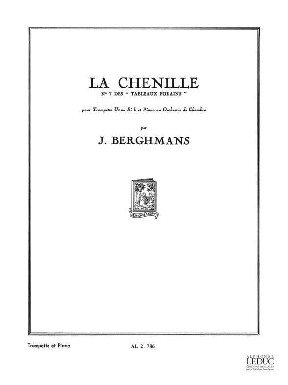 La Chenille - Tableaux Forains N° 7 - laflutedepan.com