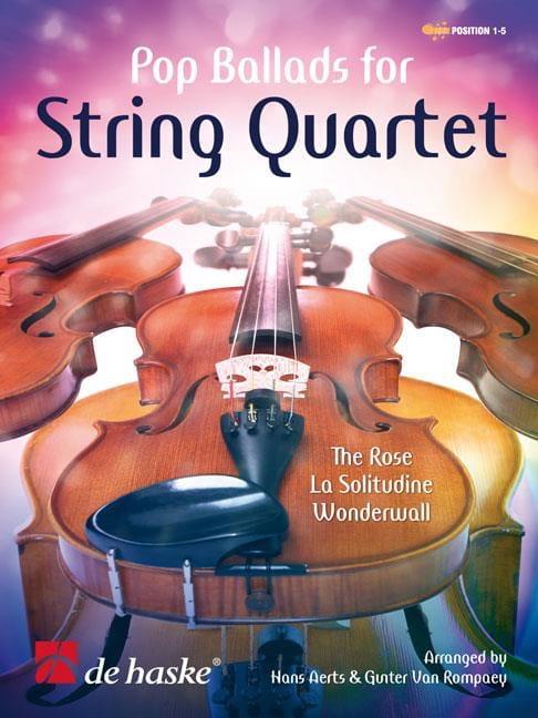 Pop Ballads For String Quartet - Partition - laflutedepan.com