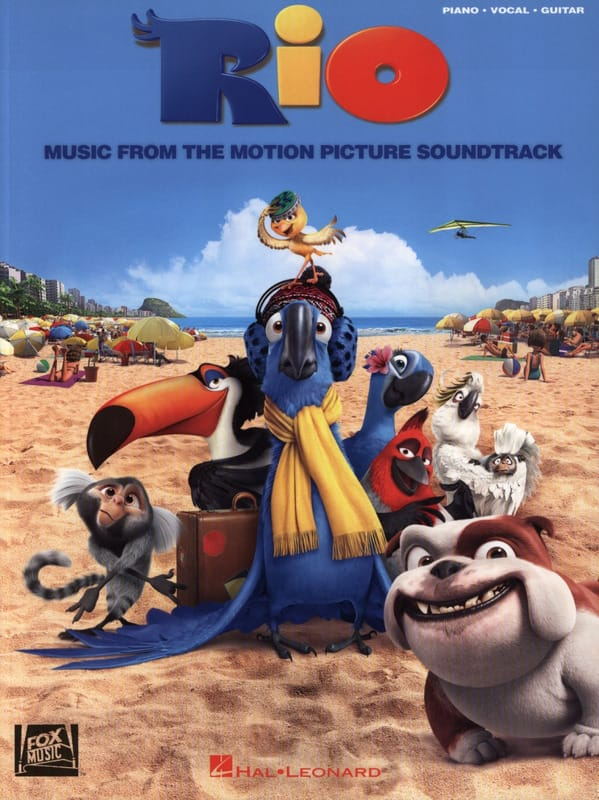 Rio - Music from the Motion Picture Soundtrack - laflutedepan.com