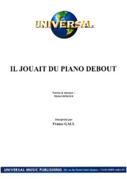 Michel Berger - Er spielte das Stehende Klavier - Partition - di-arezzo.de