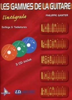 Les Gammes de la Guitare - L' Intégrale Philippe Ganter laflutedepan