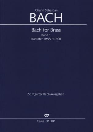 Bach for brass Band 1 - Kantaten BWV 1-100 - BACH - laflutedepan.com