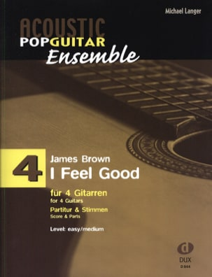 I feel good - Acoustic pop guitar ensemble N°4 laflutedepan