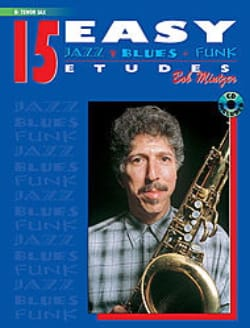 15 Easy Jazz, Blues, Funk Etudes Bob Mintzer Partition laflutedepan