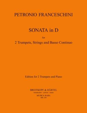 Sonata In D P. Franceschini Partition Trompette - laflutedepan