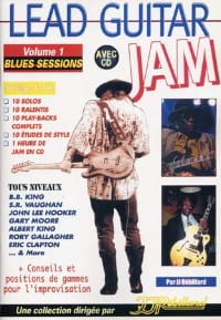 Lead guitar Jam volume 1 - Blues sessions laflutedepan