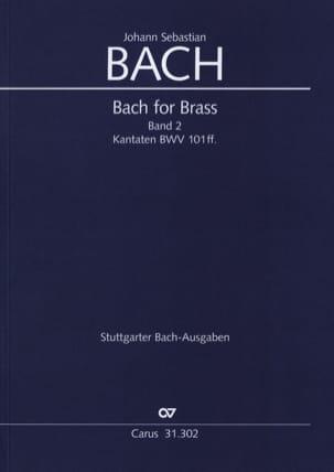 Bach for brass Band 2 - Kabtaten BWV 101ff. BACH laflutedepan