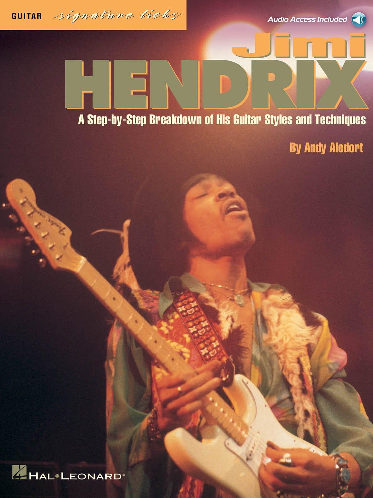 Guitar Signature Licks - Jimi Hendrix - Partition - laflutedepan.com
