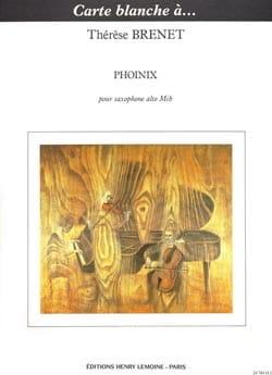 Phoinix Thérèse Brenet Partition Saxophone - laflutedepan