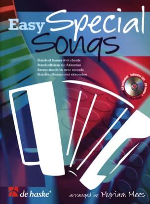 Easy Special Songs Myriam Mees Partition Accordéon - laflutedepan