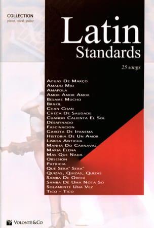 Latin Standards Collection Partition Musique du monde - laflutedepan