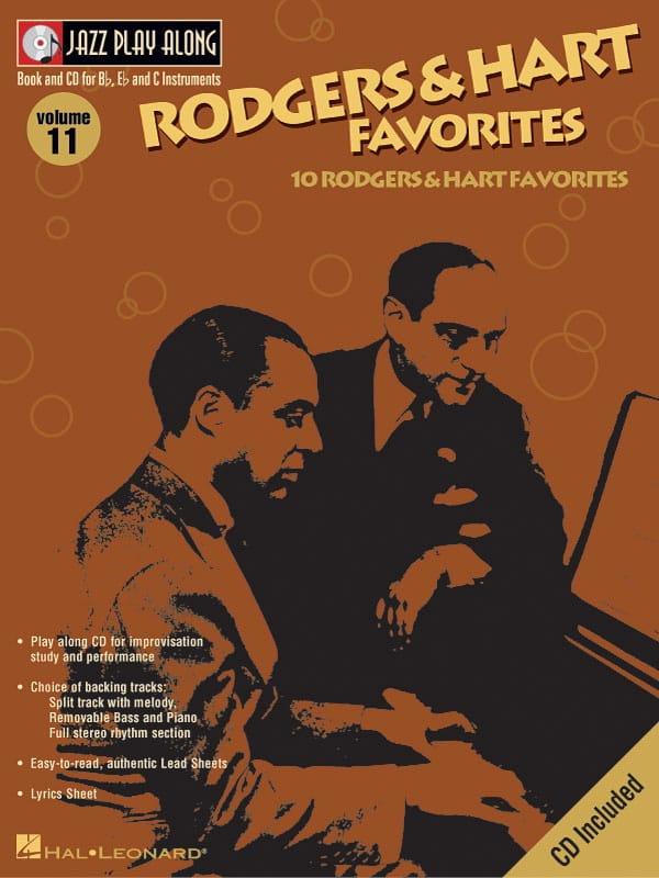 Jazz play-along volume 11 - Rodgers And Hart Favorites - laflutedepan.com