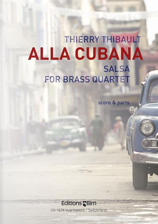 Alla Cubana - Salsa - Thierry Thibault - Partition - laflutedepan.com