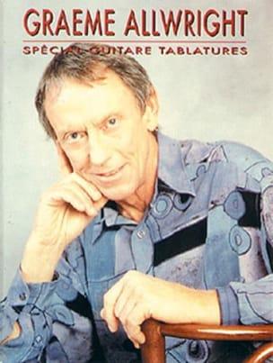 Spécial Guitare Tablatures Graeme Allwright Partition laflutedepan