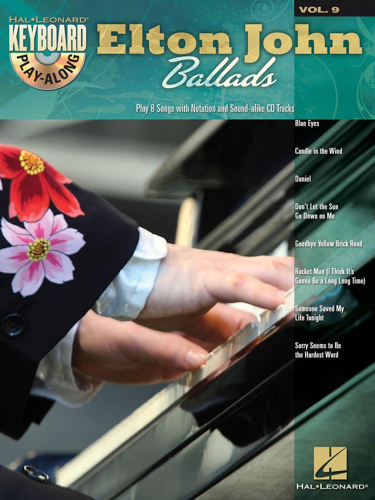 Keyboard Play-Along Volume 9 - Ballads - Elton John - laflutedepan.com