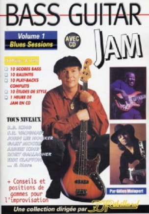 Bass guitar jam volume 1 - Blues sessions - laflutedepan.com