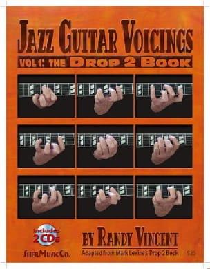Jazz Guitar Voicings Volume 1: The Drop 2 Book avec 2 CDs - laflutedepan.com