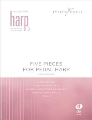 Five Pieces For Pedal Harp Volume 2 - Partition - laflutedepan.com