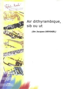 Air Dithyrambique Jacques Devogel Partition Trompette - laflutedepan