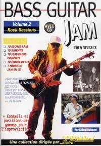 Bass guitar jam volume 2 - Rock sessions laflutedepan