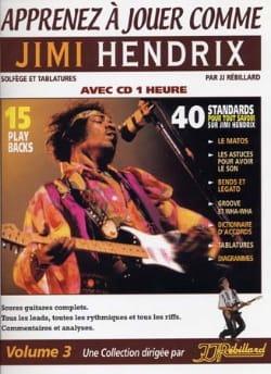 Apprenez à jouer comme Jimi Hendrix volume 3 laflutedepan