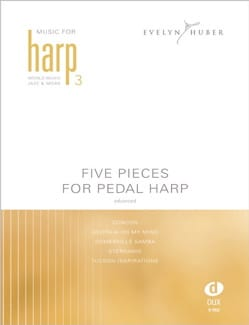Five Pieces For Pedal Harp Volume 3 Partition Harpe - laflutedepan