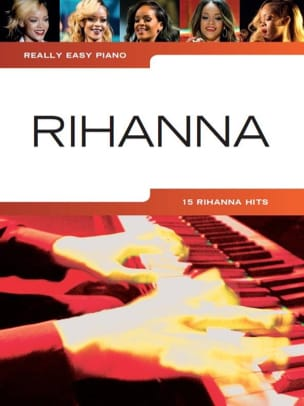 Really easy piano - Rihanna Rihanna Partition laflutedepan