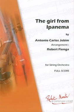 The Girl From Ipanema Antonio Carlos Jobim Partition laflutedepan