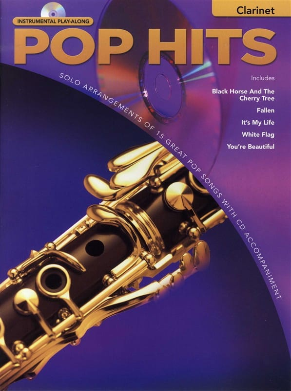 Pop hits - Instrumental play-along - Partition - laflutedepan.com