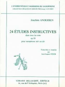 24 Etudes Opus 30 - Instructives dans Tous les Tons - laflutedepan.com