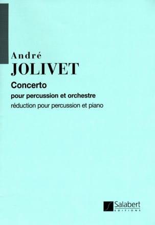 Concerto André Jolivet Partition Multi Percussions - laflutedepan