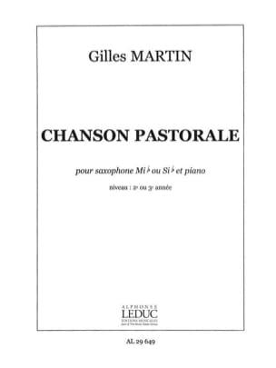 Gilles Martin - Pastoral song - Partition - di-arezzo.co.uk