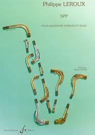 SPP Philippe Leroux Partition Saxophone - laflutedepan