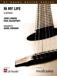In My Life BEATLES Partition Guitare - laflutedepan